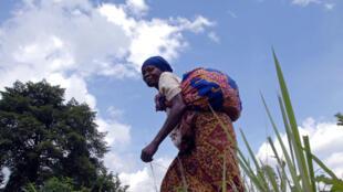 Dans la région de Beni, au Nord-Kivu, en mai 2008, les habitants vivent dans la crainte d'être enlevés par les ADF-Nalu.