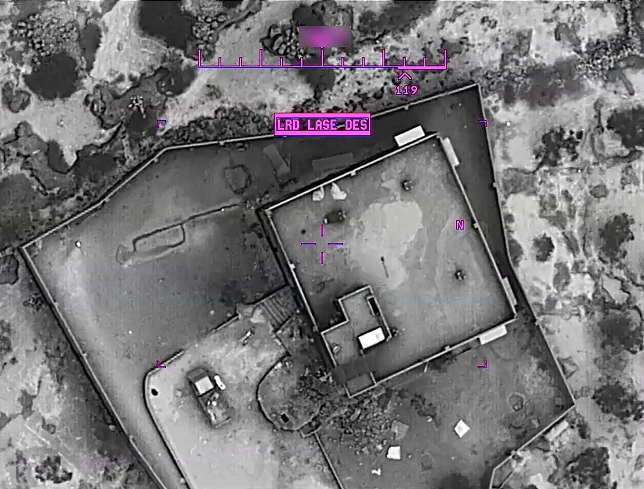 30 октября Пентагон опубликовал фото и видео операции по ликвидации аль-Багдади