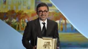 Le réalisateur turc Nuri Bilge Ceylan, lauréat de la Palme d'or du festival de Cannes pour Winter Sleep, dédie son prix à la jeunesse de son pays.