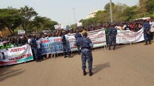 Ouagadougou, le 31 octobre 2016. Le pays a célébré les deux ans de la révolution. Les Burkinabè réclament cependant justice pour les «martyrs» de cet épisode historique.