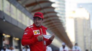 Leclerc on pole in Baku, two weeks after Monaco