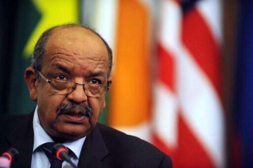 Le ministre algérien des Affaires étrangères, Abdelkader Messahel, le 7 septembre 2011, à Alger.