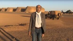 Jean-Karim Fall lors d'un de ses nombreux reportages sur le continent africain.