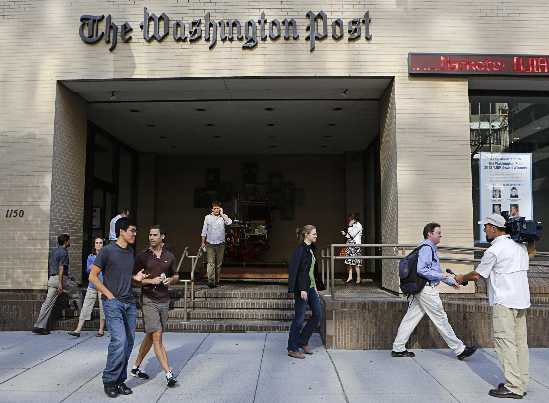 The Washington Post es famoso por haber revelado el escándalo de espionaje Watergate bajo la presidencia de Richard Nixon.