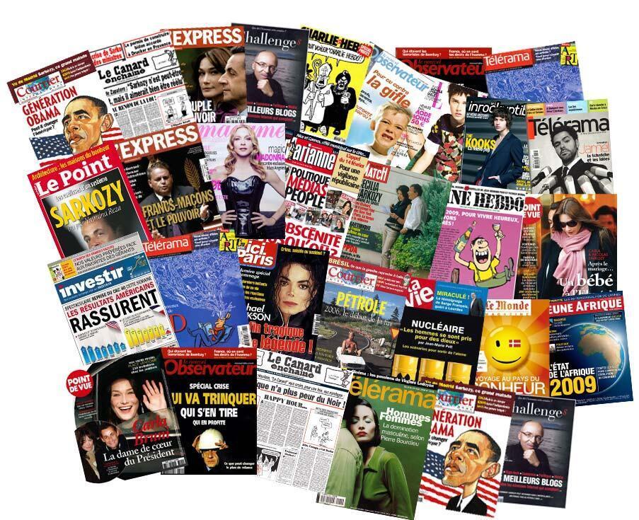 Revue de presse des hebdomadaires