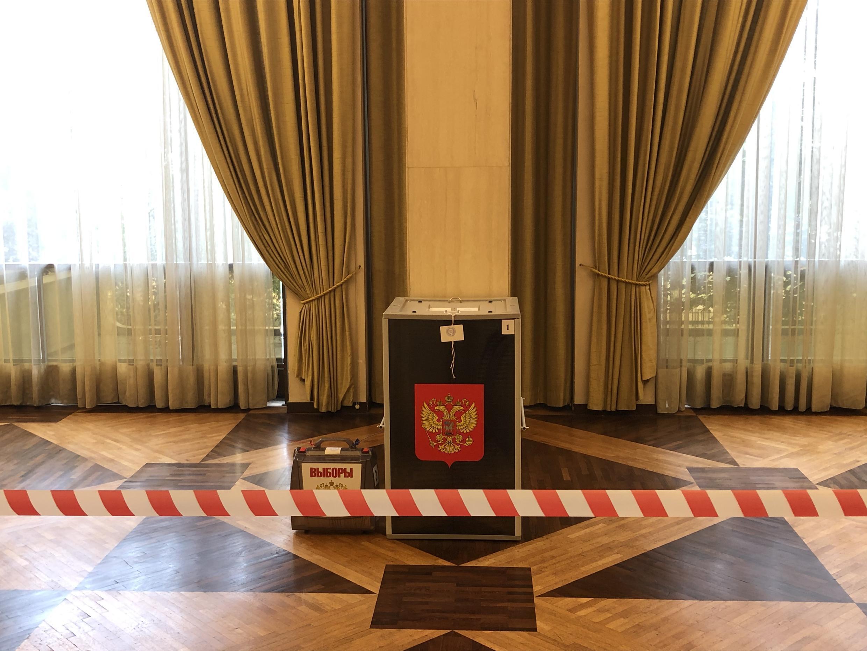 Голосование по поправкам в конституцию в посольстве в Париже. 1 июля 2020 г.