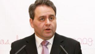 Xavier Bertrand, secrétaire général de l'UMP.