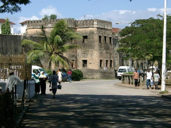 Mji wa kitalii wa Zanzibar wa Stone Town