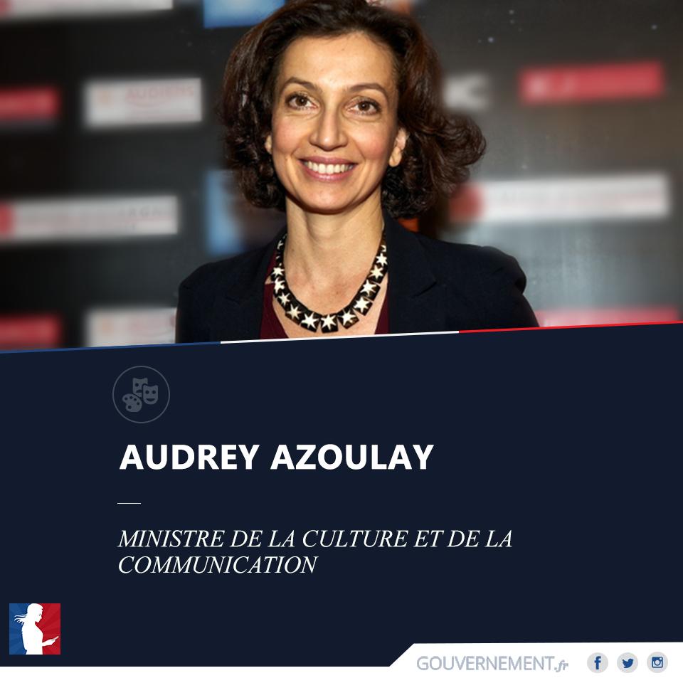 Audrey Azoulay, la nouvelle ministre de la Culture et de la Communication.