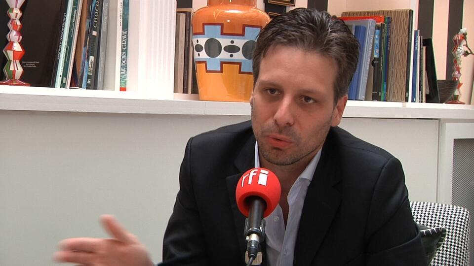 Guillaume Long, ministro ecuatoriano de cultura