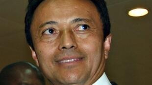 L'ancien président malgache Marc Ravalomanana à Addis Abeba, en Ethiopie, le 4 novembre 2009.