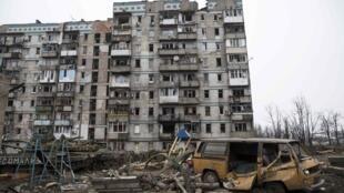 Донецк. 25 февраля 2015.