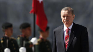 Le président turc Recep Tayyip Erdogan, le 12 février 2015.