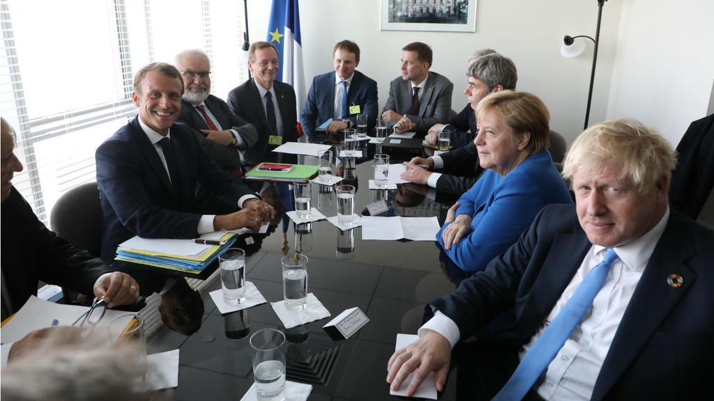 رهبران سه کشور بریتانیا، آلمان و فرانسه در حاشیه نشست مجمع عمومی سازمان ملل