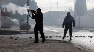 Polisi wa nchini Tunisia.