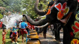 Hàng năm, hàng trăm người chết do tai nạn giao thông trong dịp lễ Songkran.