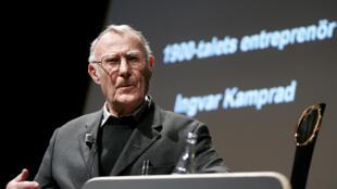 Ingvar Kamprad, fondateur d'Ikea, est décédé à l'âge de 91 ans.