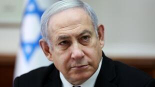 Le Premier ministre israélien Benyamin Netanyahu, à Jérusalem, le 1er décembre 2019.