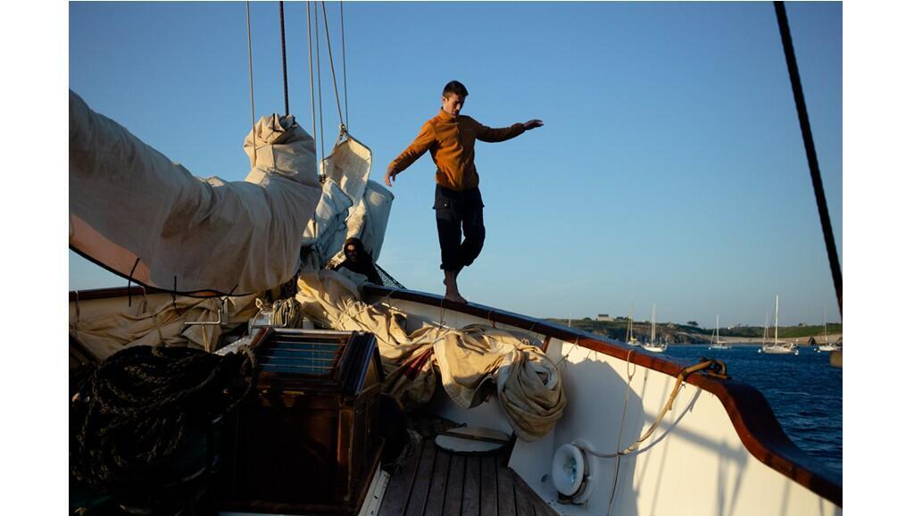 38 personnes ont embarqué pour une semaine en mer autour des îles du Ponant.
