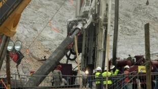 No Chile tudo está pronto para o resgate dos 33 mineiros bloqueados em San José.