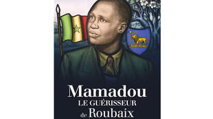 La couverture du livre «Mamadou le guérisseur de Roubaix» de Jacques Geesen.