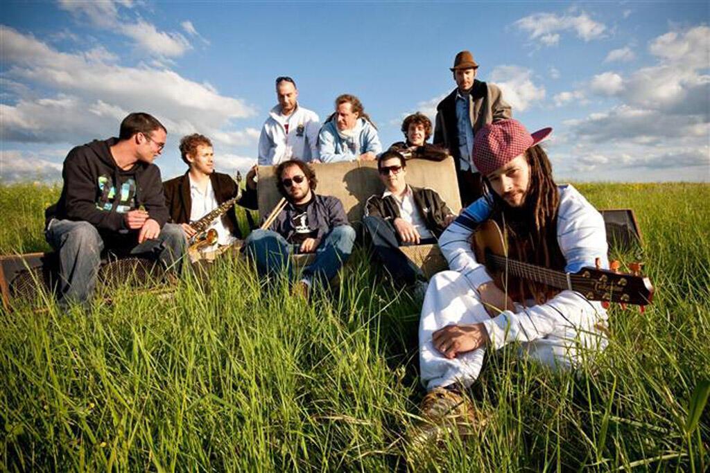 Le groupe de reggae français Danakil