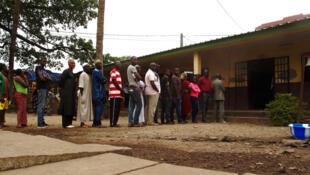Jour de vote en Guinée. Conakry, le dimanche 4 février 2018.