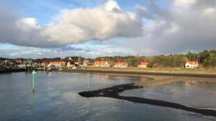 La petite île de Vlieland.