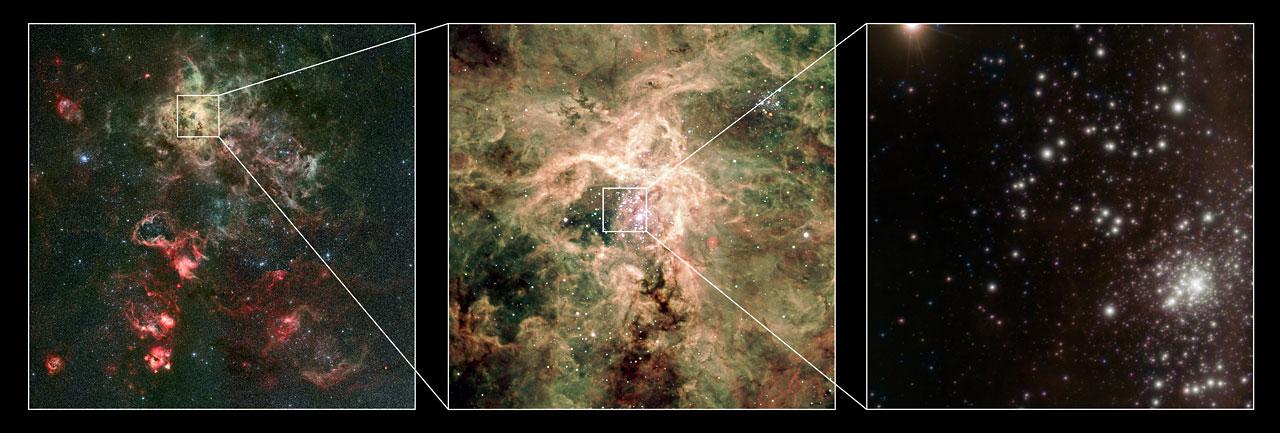 La découverte de r136a1 ouvre des perspectives à la recherche sur la formation de la matière.