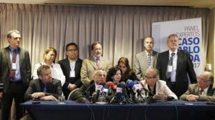 نشست خبری کارشناسان بین المللی پروندۀ مرگ پابلو نرودا - سانتیاگو، شیلی