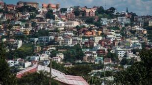 Vue d'Antananarivo, le 4 mai 2016.
