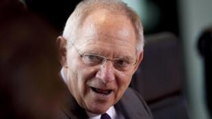 O ministro alemão das Finanças, Wolfgang Schauble.