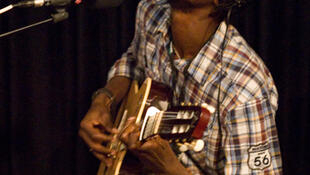 Pedro Kouyaté au studio 136.