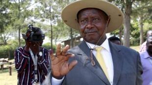 Rais wa Uganda Yoweri Museveni