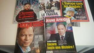 Capas de magazines news franceses de 07 de maio de 2016