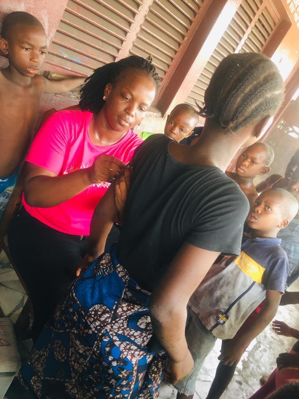 Liberia vaccine