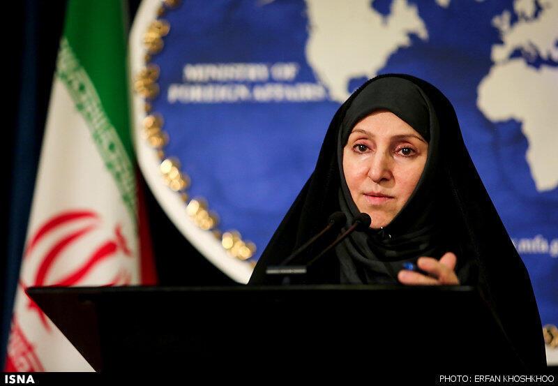 مرضیه افخم، سخنگوی وزارت امور خارجه جمهوری اسلامی