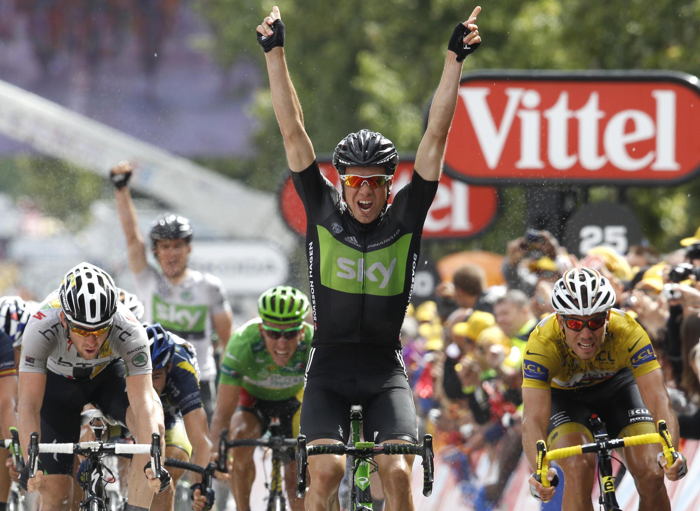 O norueguês, Edvald Boasson Hagen, venceu 6ª etapa da volta a França