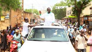 Soumaïla Cissé, lors de la campagne électorale pour la présidentielle malienne de 2013, a été enlevé dans la région de Niafunké.