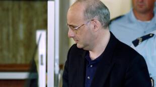 Jean-Claude Romand, lors de son jugement, à Bourg-en-Bresse, le 25 juin 1996.