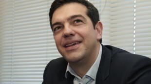 Новый премьер-министр Греции Алексис Ципрас