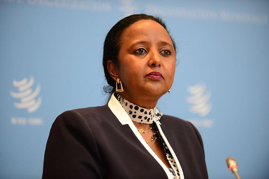 Amina Mohamed, ministre des Affaires étrangères du Kenya.