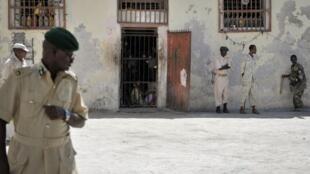 Prison centrale de Mogadiscio, en 2013.