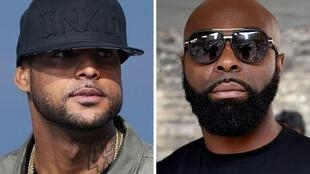 Rap rivals Booba and Kaaris