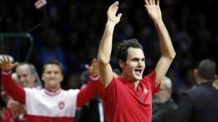 Roger Federer le da a Suiza su primera Copa Davis