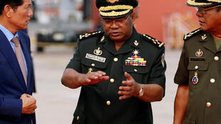 Le général Hing Bun Hieng, chef des gardes du corps de Hun Sen, a été sanctionné par les États-Unis le 12 juin dernier.