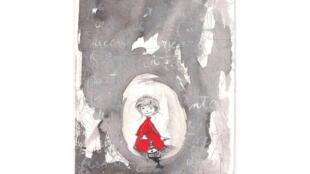 Dessin de Silvia Fantini réalisé à partir de «Écouter Paris à Montmartre».