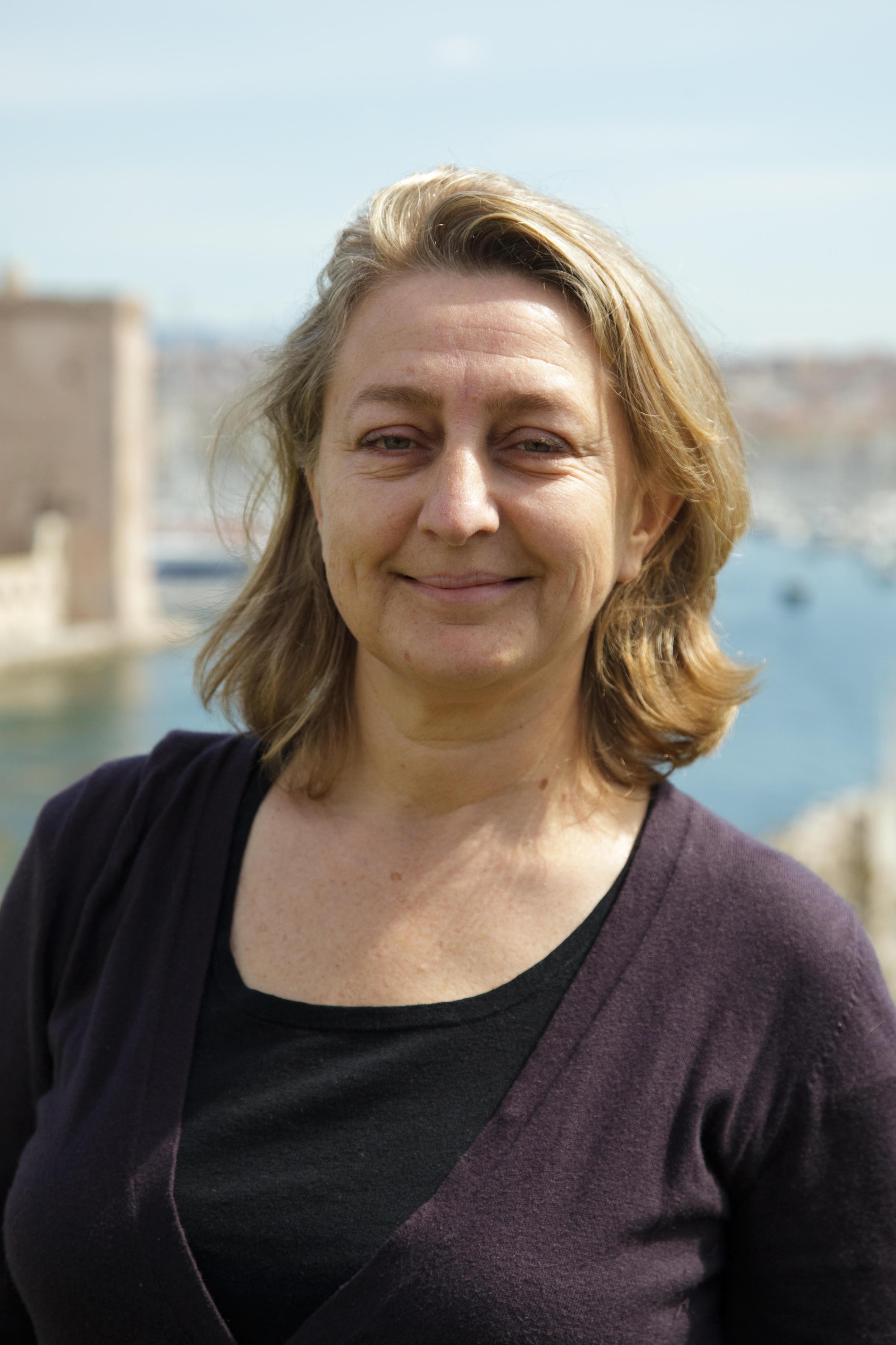 Elodie Martinie-Cousty, chefe do departamento marítimo da organização França Natureza e Meio Ambiente.