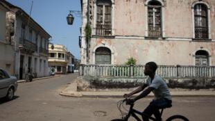 Cidade de São Tomé. Imagem de arquivo.