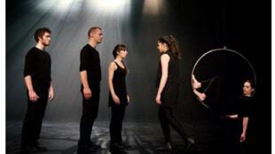 La pièce «Les ponts», mise en scène de Stéphanie Loïk.